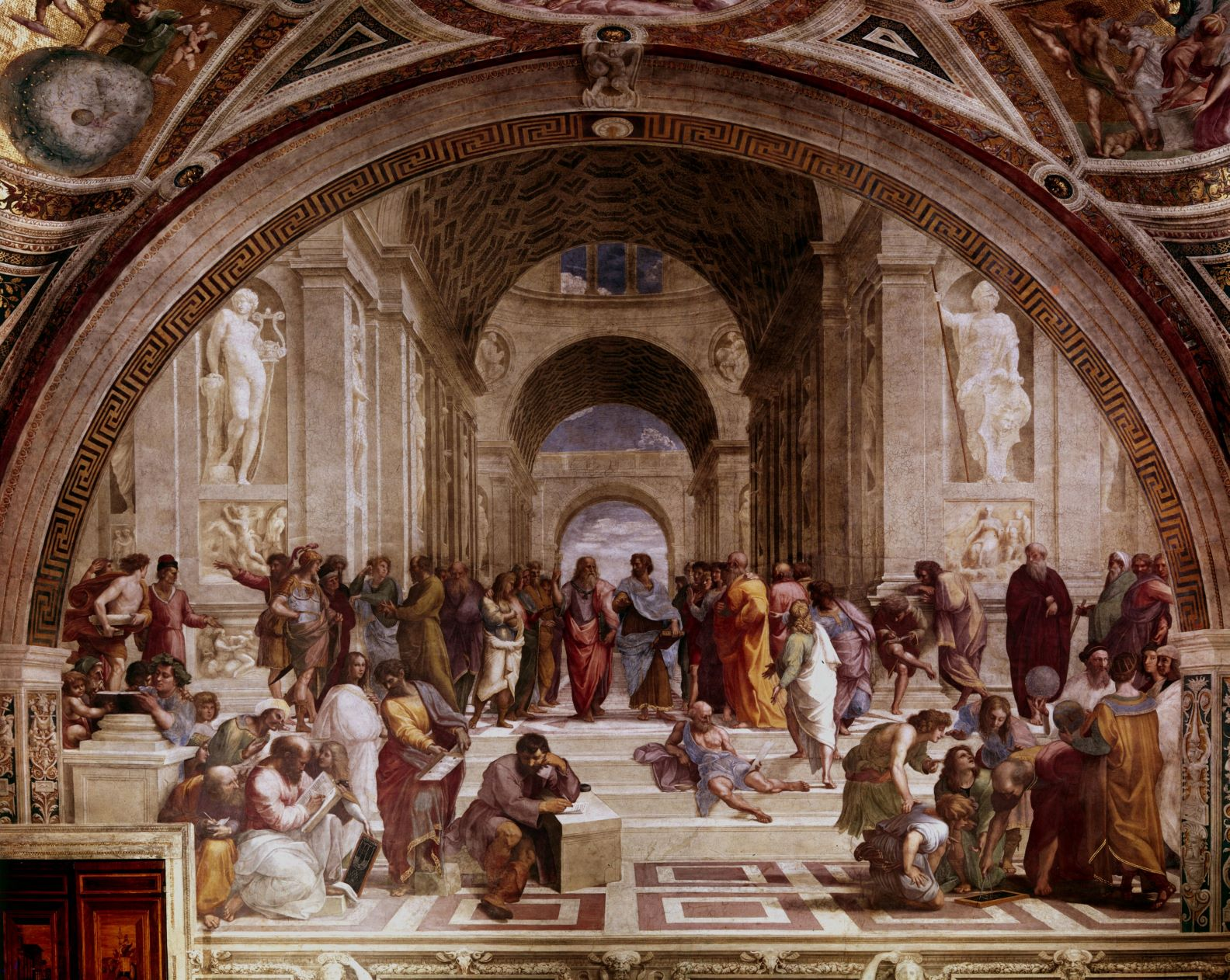 Raphael's painting The School of Athens